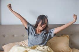 Gesund schlafen, ausgeruht aufwachen