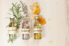 Ätherische Öle helfen beim Entspanne