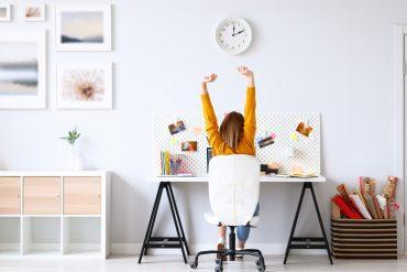 Keine Rückenschmerzen im Home Office