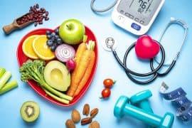 Gesunde Ernährung hilft gegen Bluthochdruck