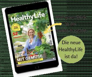 Zweite Magazin-Ausgabe von HealthyLife - einfach gesünder Leben